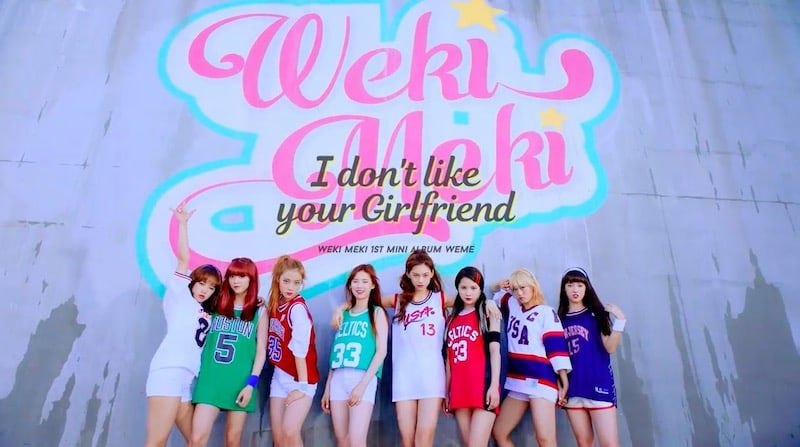 Watch: Weki Meki Reveals Bright And High-Energy Teaser For Debut I Dont Like Your Girlfriend MV