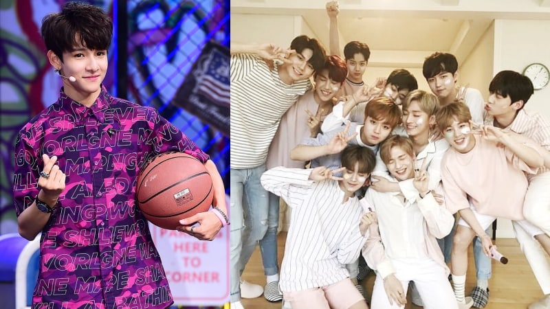Samuel Kim Says Hes Excited To Debut Alongside Wanna One And Cant Wait To See Them Again