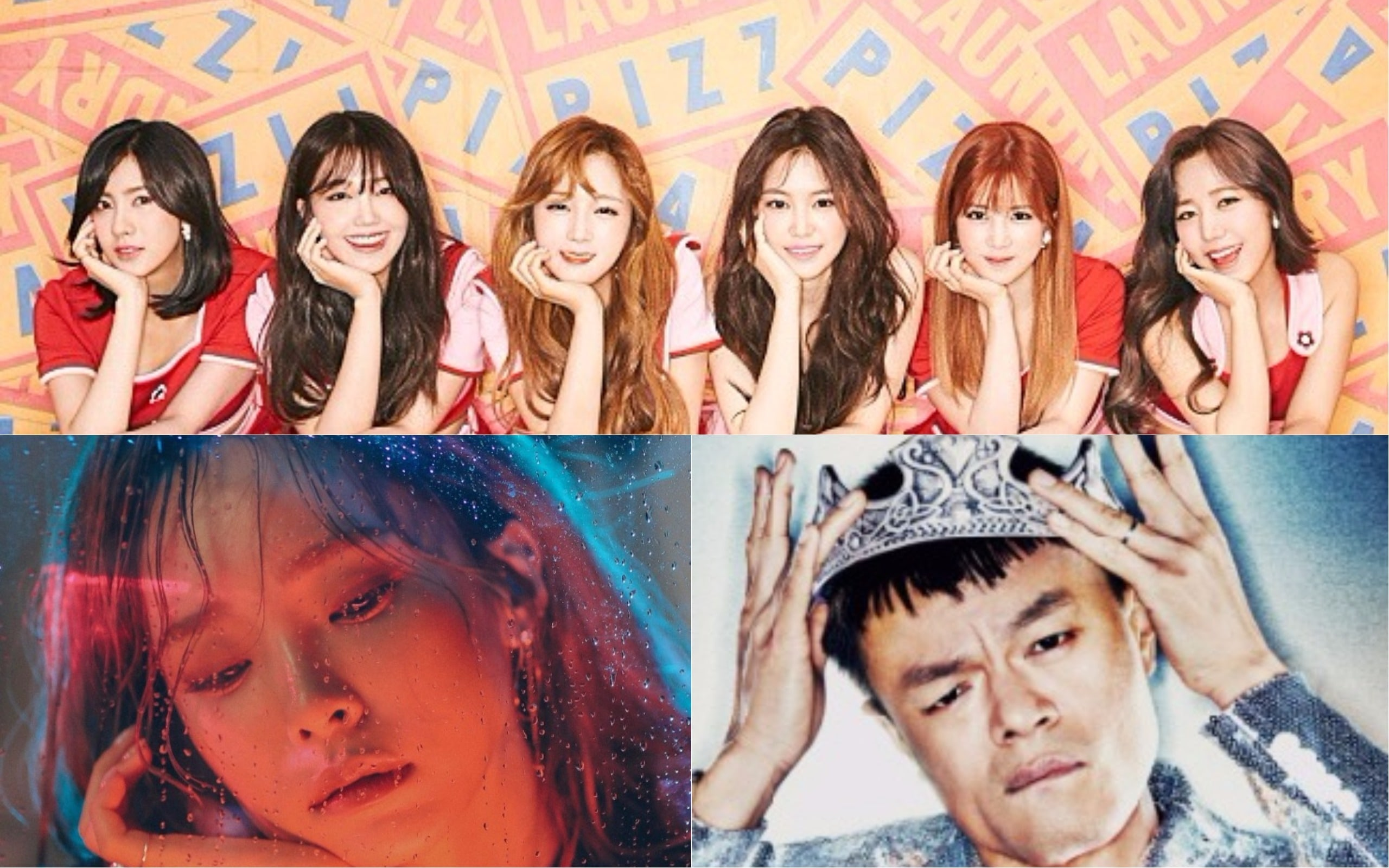 """Apink, Heize, And Park Jin Young Hang Out Together After """"Party People"""" In Instagram Photo"""
