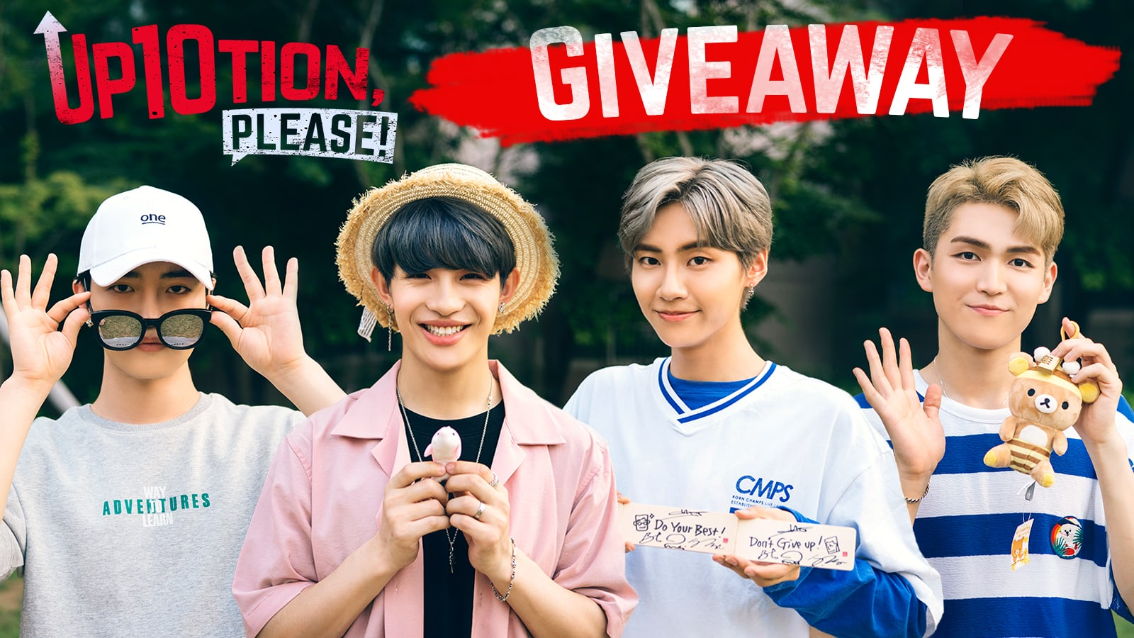 "Watch ""UP10TION, Please! Go On A Date With Me"" And Win Presents From The Members"