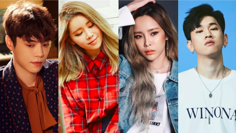 Eddy Kim, Suran, Heize, And Crush Join Lineup For Seo Taijis Remake Project