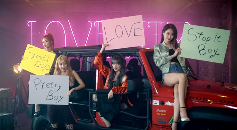 """Watch: 9MUSES Returns With Fierce MV For """"Love City"""""""