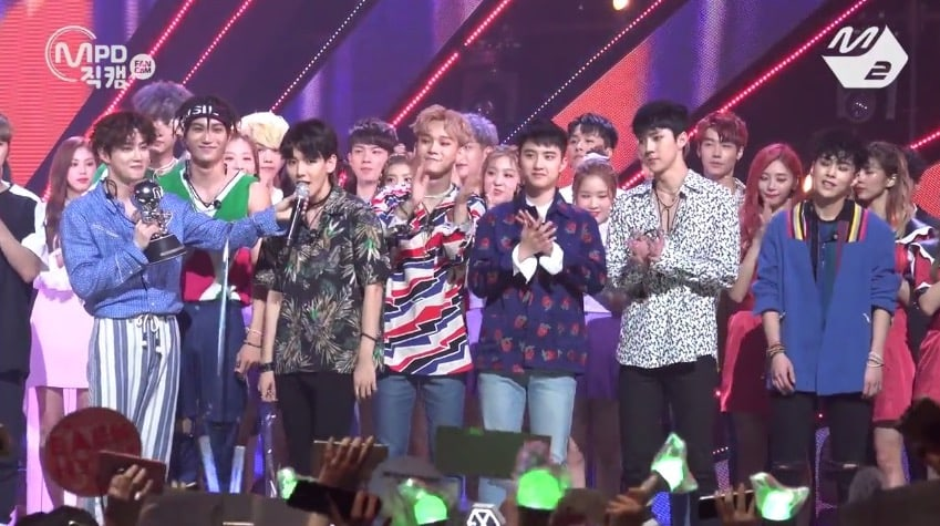"Watch: EXO Takes 6th Win For ""Ko Ko Bop"" On ""M!Countdown,"" Performances By GFRIEND, JJ Project, Samuel Kim, And More"