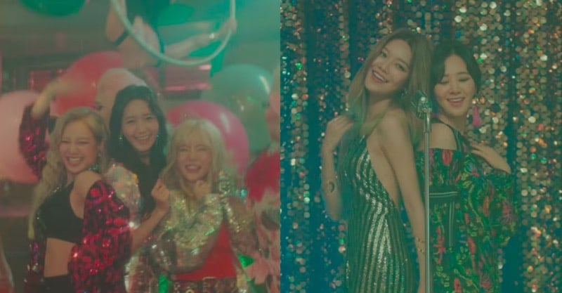 "Update: Girls' Generation Gets The Party Started In ""All Night"" MV Teaser"