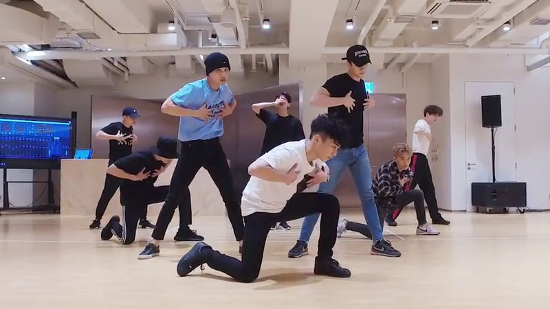 Watch: EXO Unveils Dance Practice Video For The Eve