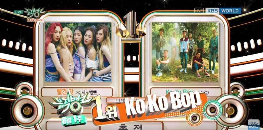 "Watch: EXO Takes 7th Win For ""Ko Ko Bop"" On ""Music Bank,"" Performances By JJ Project, GFRIEND, Samuel, And More"