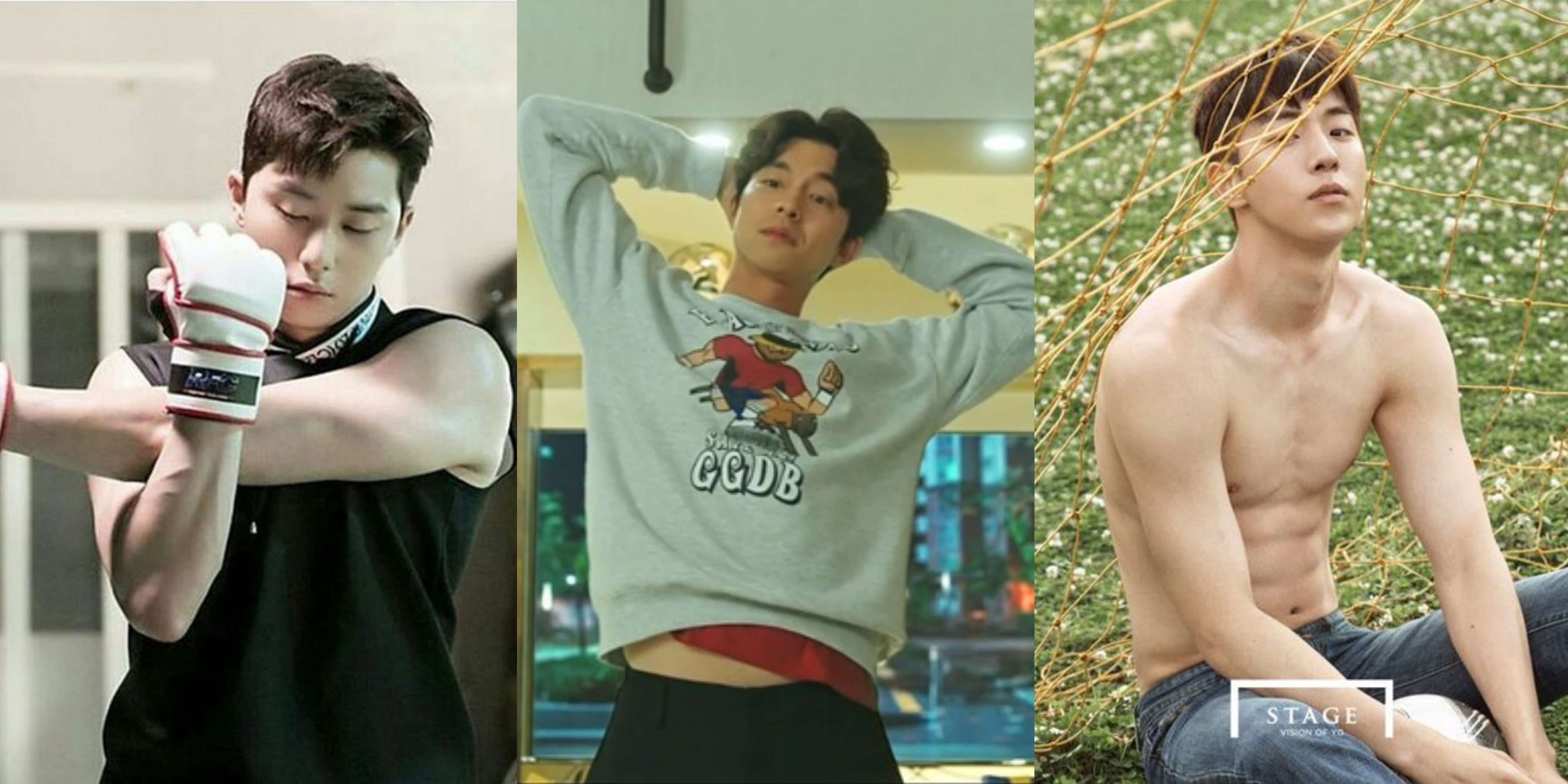 The Definitive List Of K-Drama Actors With Wonderfully Broad Shoulders