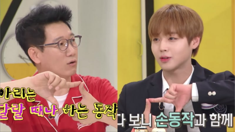 Ji Suk Jin Finds Out He First Met Wanna Ones Park Ji Hoon 9 Years Ago