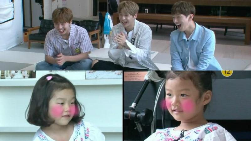 """Wanna One Members Crack Up Over Kids' Comments On Their Looks On """"The Return Of Superman"""""""