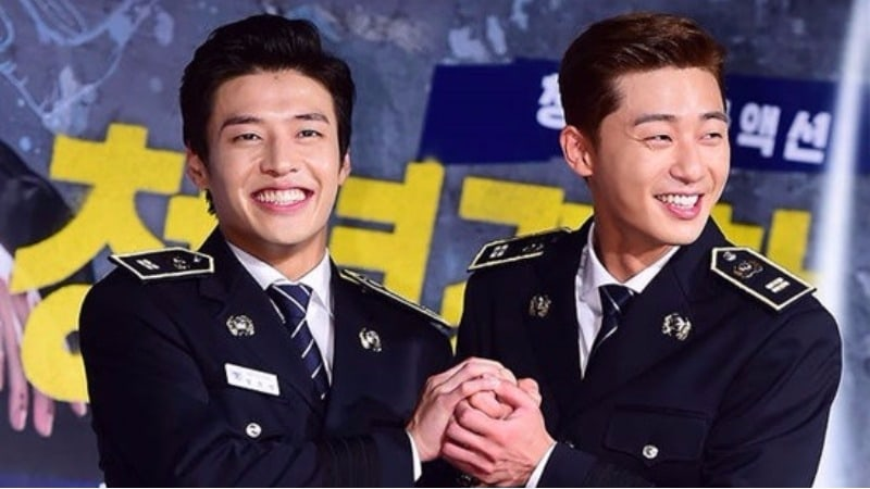 Park Seo Joon And Kang Ha Neul Show Off Toned Bodies In New Movie