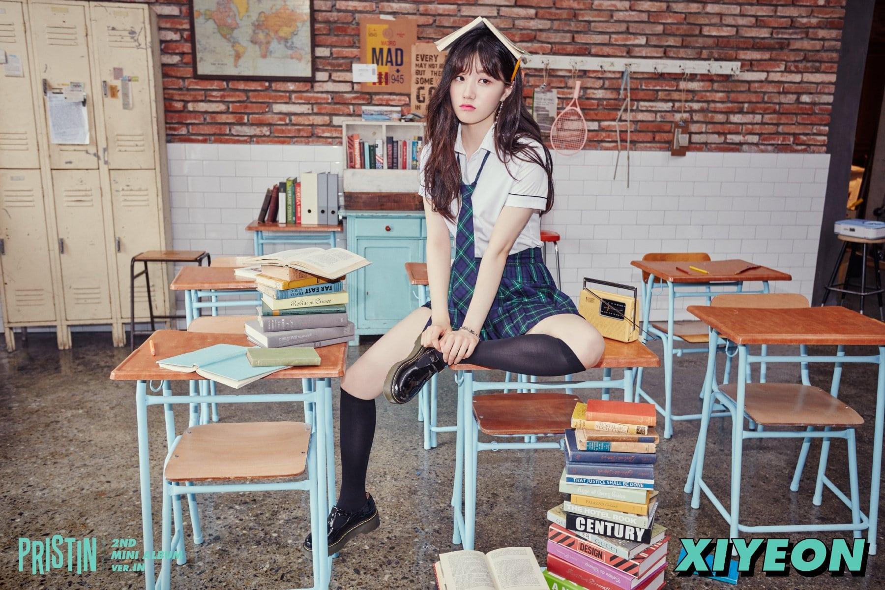 "Pristin >> Mini Album Debut ""HI Pristin"" - Página 2 Xiyeon-2"