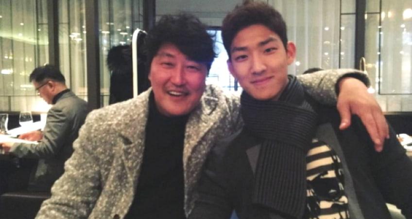Netizens Go Crazy Over Photos Of Song Kang Hos Very Attractive Son