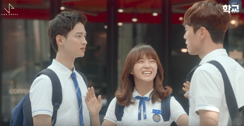 "Watch: gugudan Releases MV For Refreshing And Upbeat ""School 2017"" OST"