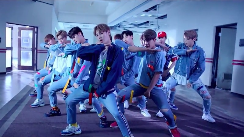 "Wanna One's ""Energetic"" Becomes K-Pop Group Debut MV With Most Views In 24 Hours"