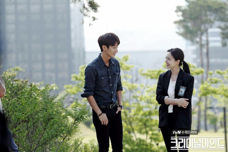 "Lee Joon Gi And Moon Chae Won Work Together To Solve A Case Of Terrorism In New ""Criminal Minds"" Stills"