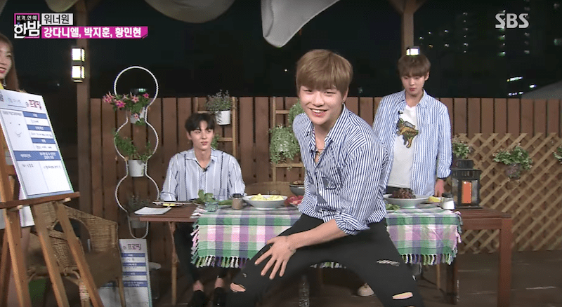 Wanna Ones Kang Daniel Reveals How His Famous Dance Move In Open Up Came To Be