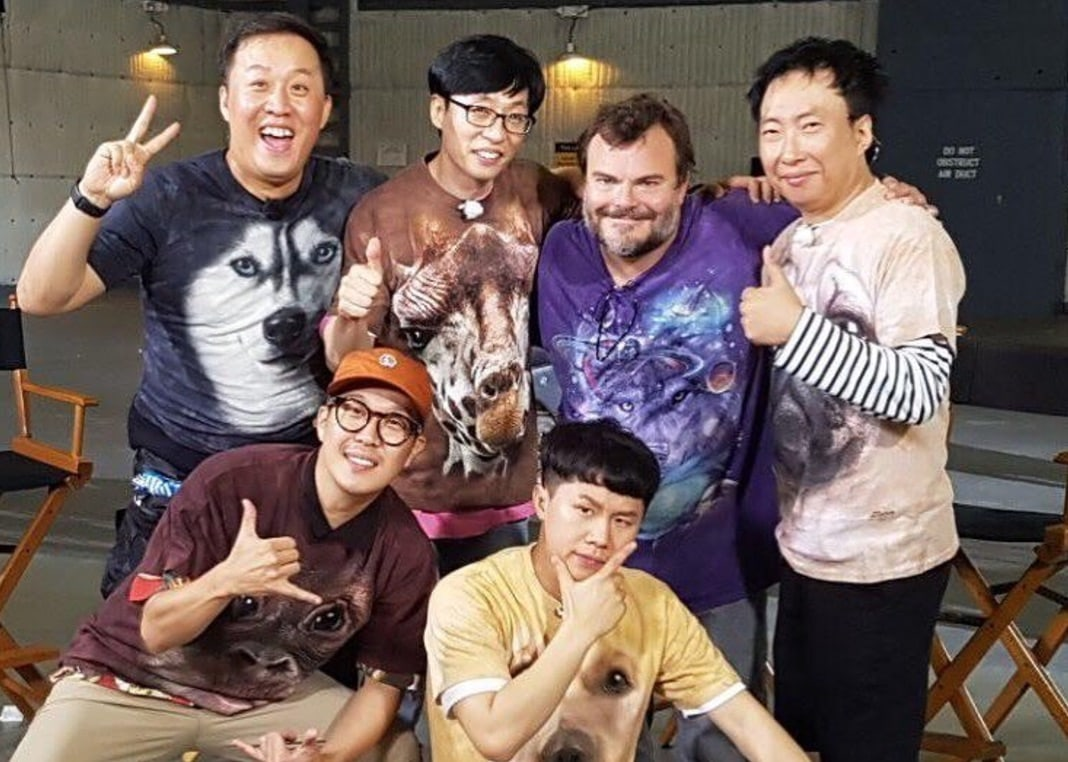 """Infinite Challenge"" To Air Hilarious Reunion Of Cast And Jack Black In LA"