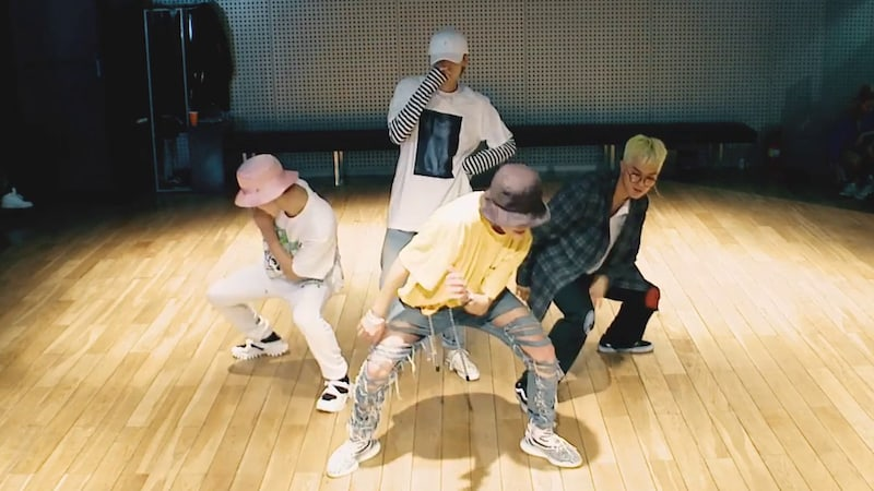 """Watch: WINNER Takes You To An """"ISLAND"""" In New Dance Practice Video"""