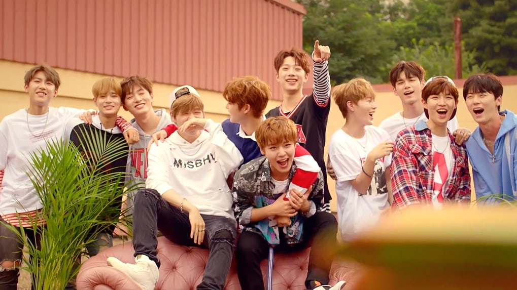 Watch: Wanna Ones Excitement Is Contagious In Behind-The-Scenes Video For Energetic MV