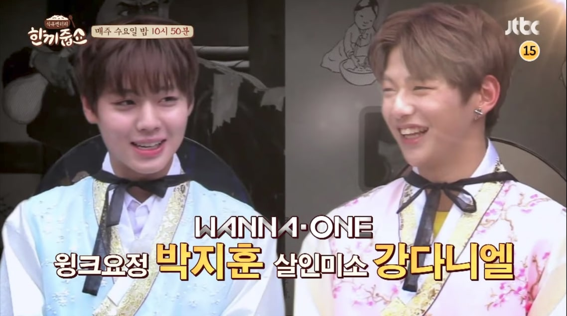 Watch: Wanna One's Kang Daniel And Park Ji Hoon Mobbed While Filming Variety Show