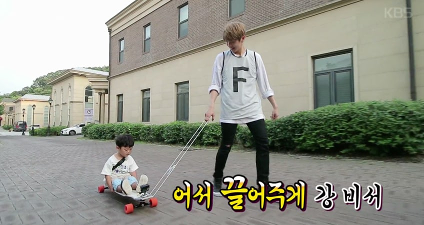 "Watch: Wanna One Has Fun With Daebak And His Sisters In New Preview For ""The Return Of Superman"""