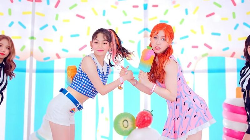 "Watch: gugudan5959 Makes Unit Debut With Summery MV For ""Ice Chu"""