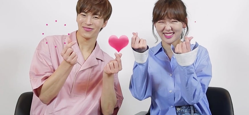 Watch: VIXXs Hongbin And Actress Jin Ki Joo Flaunt Their Adorable Chemistry And Aegyo
