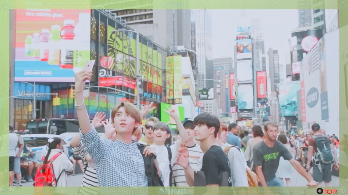Watch: UP10TION Takes Fans Along On New York Adventures In Everything MV