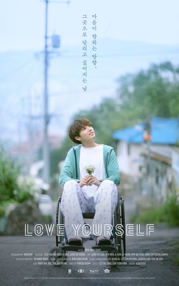 BTSs Jungkook Features In Poster For Love Yourself