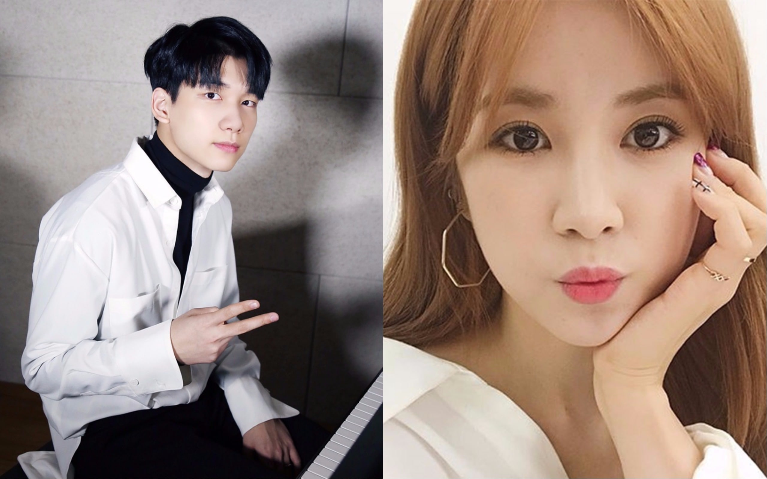 VIXXs Hyuk And Apinks Chorong Confirmed To Star In New Web Drama