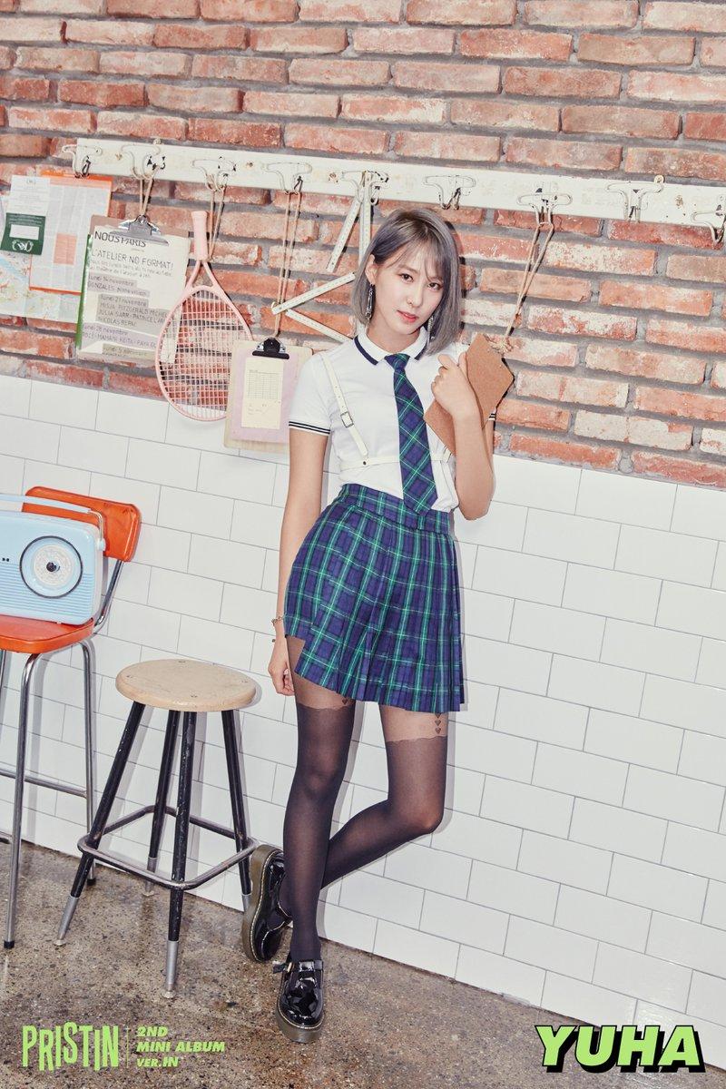"Pristin >> Mini Album Debut ""HI Pristin"" - Página 2 PRISTIN-Yuha"