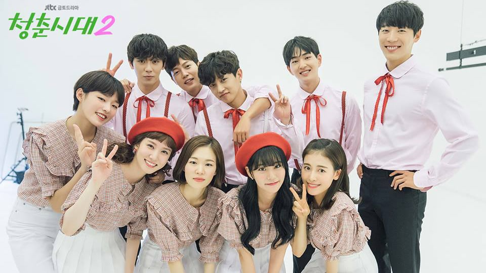 "Cast Of ""Age Of Youth 2"" Is All Smiles In Behind-The-Scenes Photos From Official Poster Shoot"