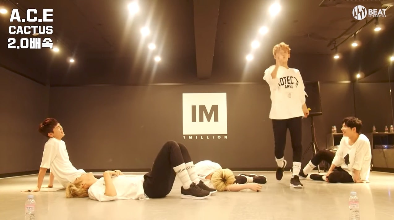 Watch: A.C.E Takes On The Challenge Of Dancing To Cactus At Twice The Original Speed