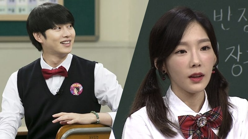 """Kim Heechul Explains How Taeyeon Shows Her Fangirl Love For """"Ask Us Anything"""""""