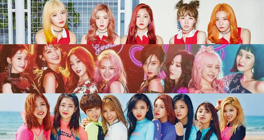 August Girl Group Brand Reputation Rankings Revealed