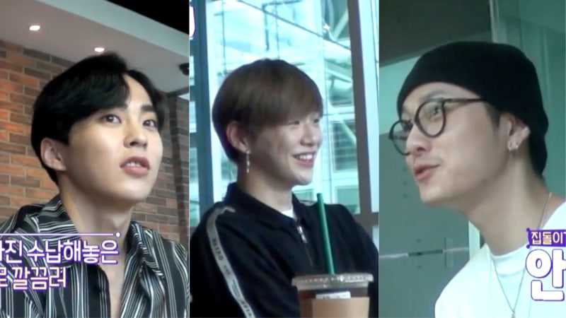 Watch: Xiumin, Kang Daniel, And Yong Junhyung Reveal Why They Are Homebodies In New Teaser