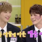 "Watch: Wanna One's Kang Daniel And Ong Sung Woo Hilariously Parody Scene From ""Descendants Of The Sun"""