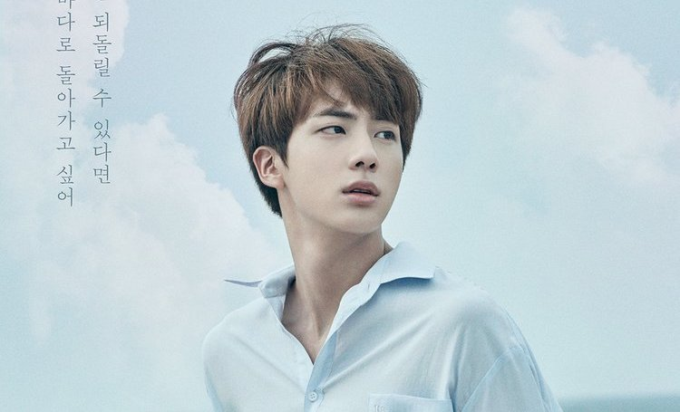 update bts shares new poster of jin for upcoming love yourself