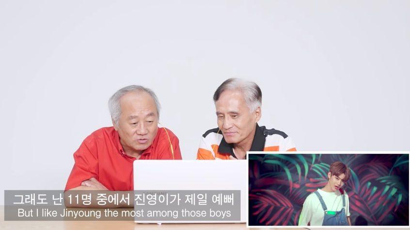 "Watch: Korean Elders React To Wanna One's ""Energetic"" MV"