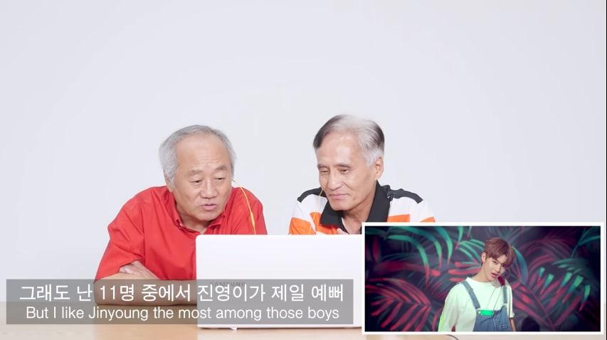 Watch: Korean Elders React To Wanna Ones Energetic MV