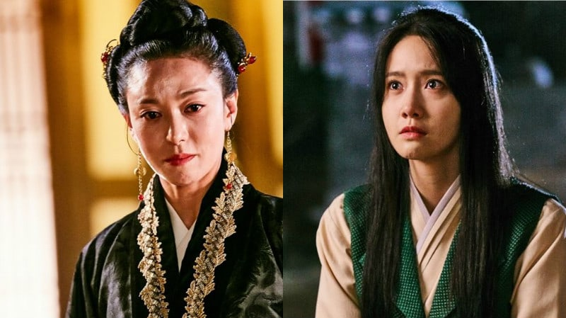 YoonA Anxiously Kneels Before Jang Young Nam In New The King Loves Stills