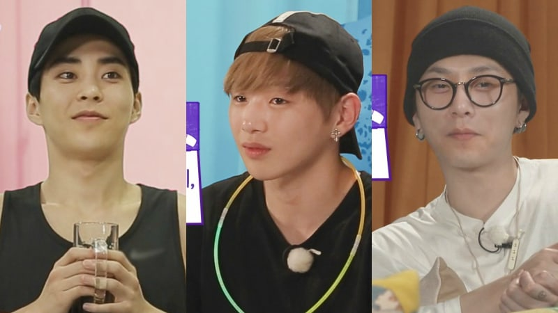 Xiumin, Kang Daniel, And Yong Junhyungs Hobbies Revealed In Profiles For New Variety Show