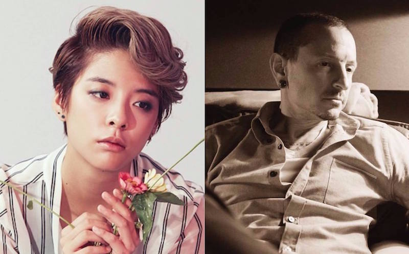 Watch: f(x)s Amber Shares A Touching Tribute To Linkin Parks Chester Bennington