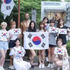 Korean Stars Celebrate National Liberation Day
