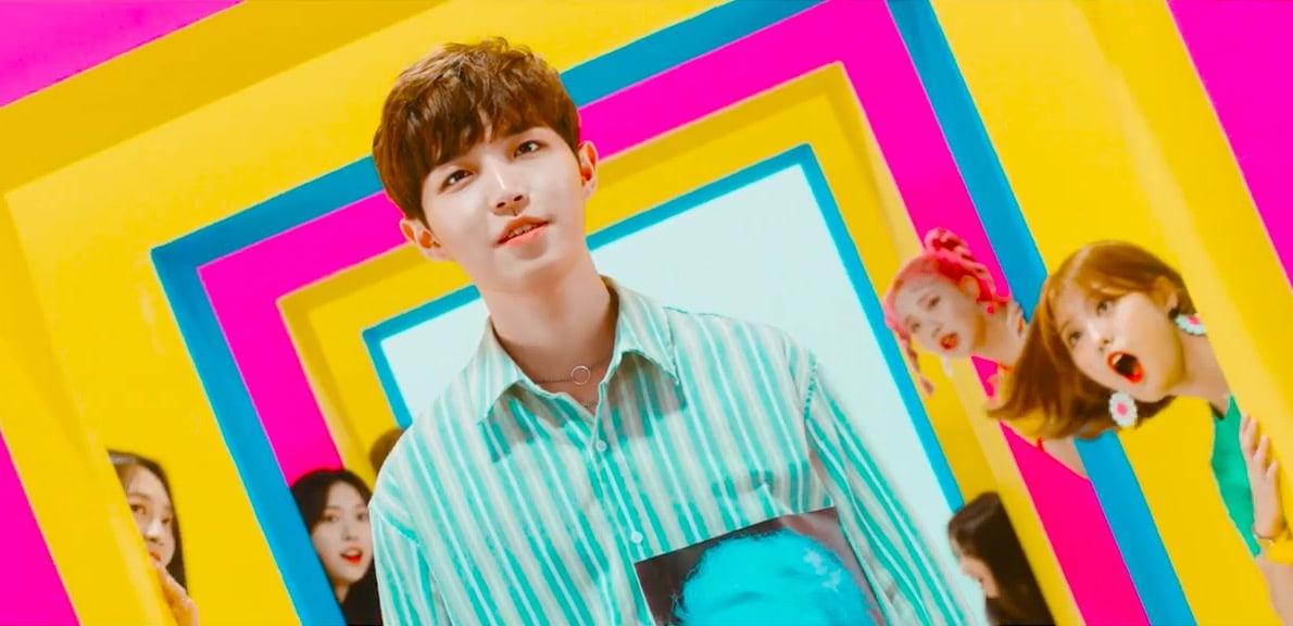 Watch: Wanna Ones Kim Jae Hwan Explores MOMOLANDs Whimsical World In Their Freeze! MV Teaser