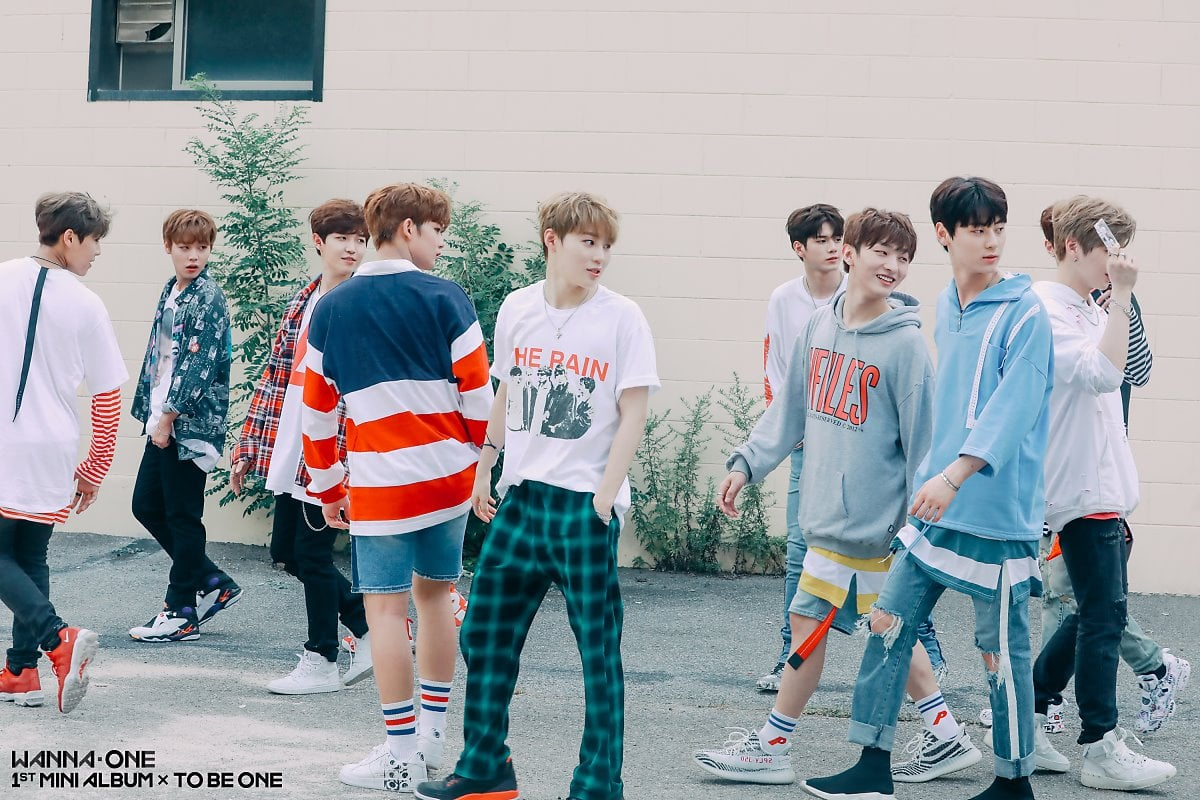 Wanna One Takes Fans Behind The Scenes Of Energetic And