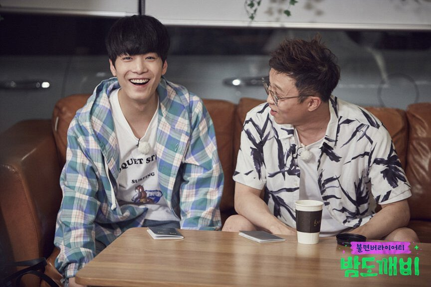"""""""Night Goblin"""" Cast Members NU'EST's JR And Park Sung Gwang To Appear On """"Ask Us Anything"""""""