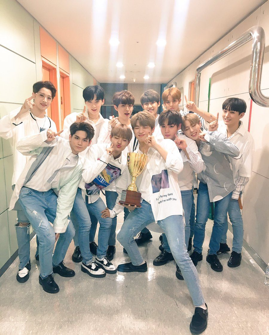 "Watch: Wanna One Takes 1st Ever Win With Energetic On ""Show Champion, Performances By JJ Project, GFRIEND, And More"