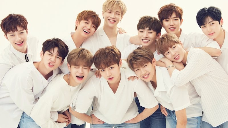 Wanna One Sweeps Weekly Gaon Charts With Debut Release