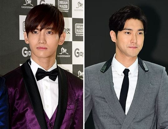 TVXQs Changmin And Super Juniors Choi Siwon To Return From The Military Without A Discharge Ceremony